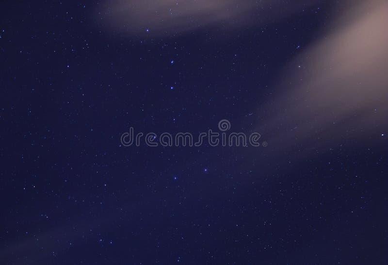 Constelaciones de Ursa Major y de Ursa Minor imágenes de archivo libres de regalías