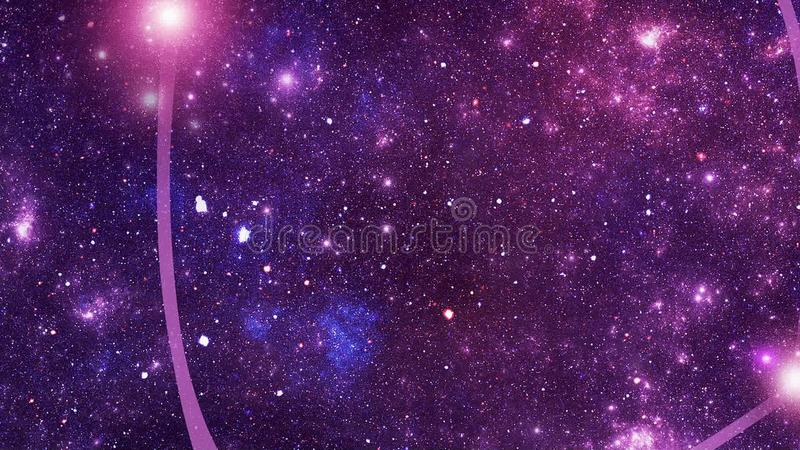 Constellatie Pyxis (Pyxis) stock video