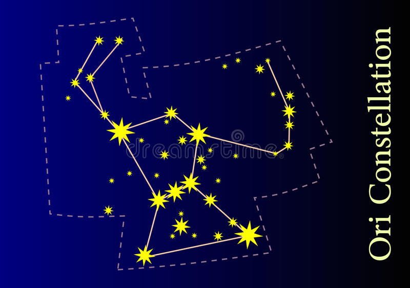 Constellation stock illustration