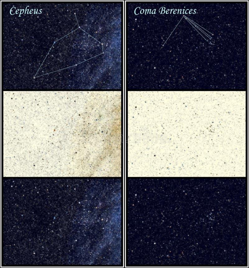 Download Constellation Cepheus Coma Berenices Stock Illustration - Image: 16962001