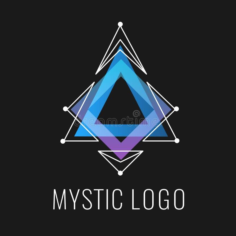 Constellation dans la triangle cosmique illustration libre de droits