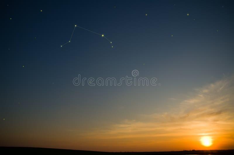 Constellation de zodiaque photos stock