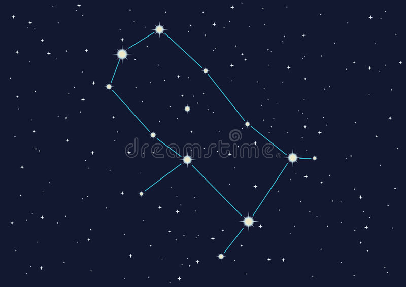 Constellation Gemini Royalty Free Stock Images