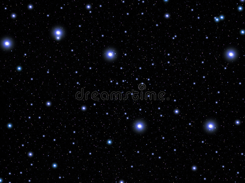 Constellation l'ours grand illustration stock