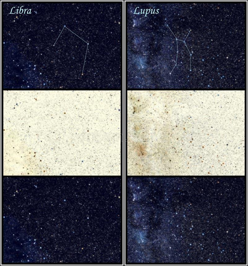 Constellation Libra Lupus royalty free stock photo
