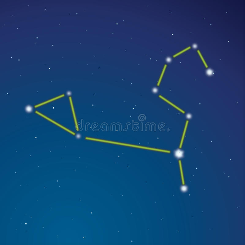 Download Constellation Of A Lion Stock Images - Image: 15018294