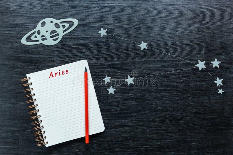Constellations Aries stock photos
