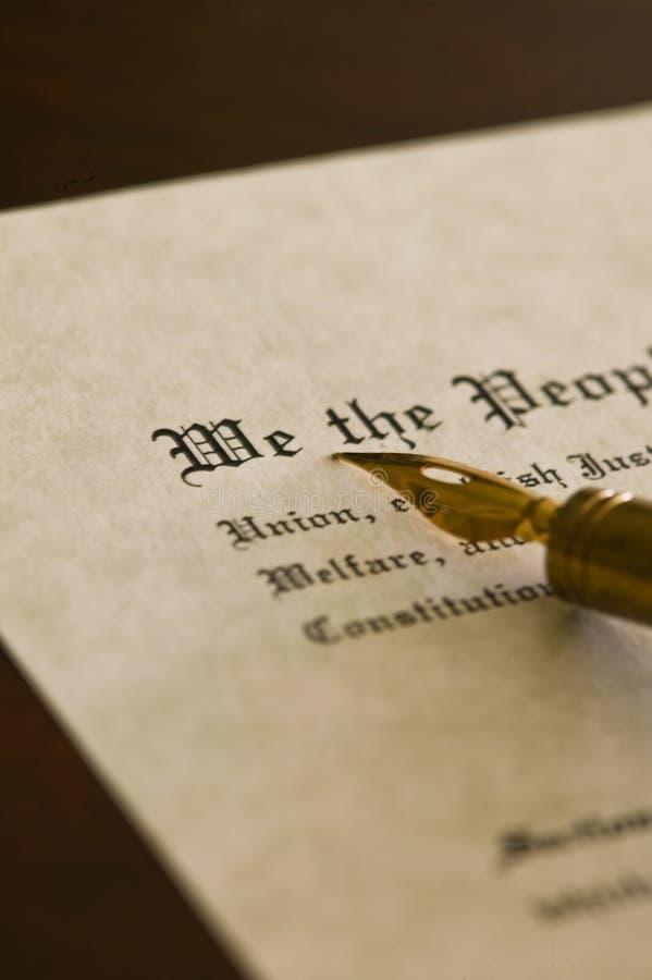 Constituição fotos de stock