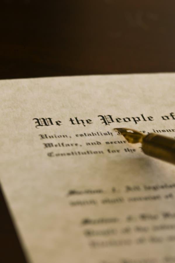 Constituição foto de stock royalty free