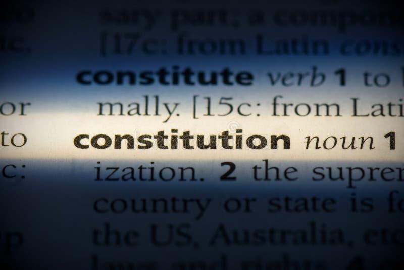 Constitution photo stock