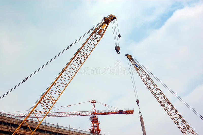 Download Constrction stock photo. Image of blue, yellow, industry - 24285758