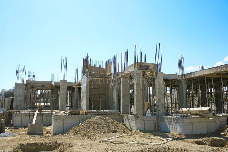 Download Construção foto de stock. Imagem de planos, concreto - 16864614
