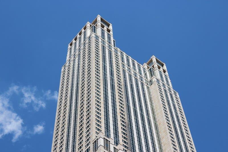 Construção alta de Chicago fotografia de stock