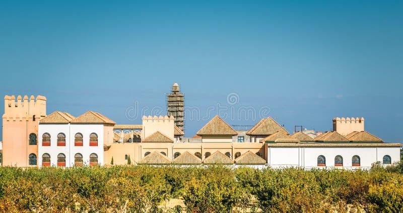 Construção antiga, arquitetura islâmica bonita imagens de stock royalty free