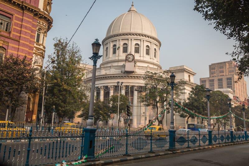 Construção arquitetónica da herança a estação de correios ou o GPO geral em B B d Saco em Kolkata imagens de stock