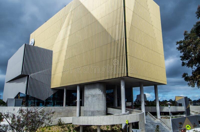 Construção BC na universidade de Deakin fotos de stock royalty free