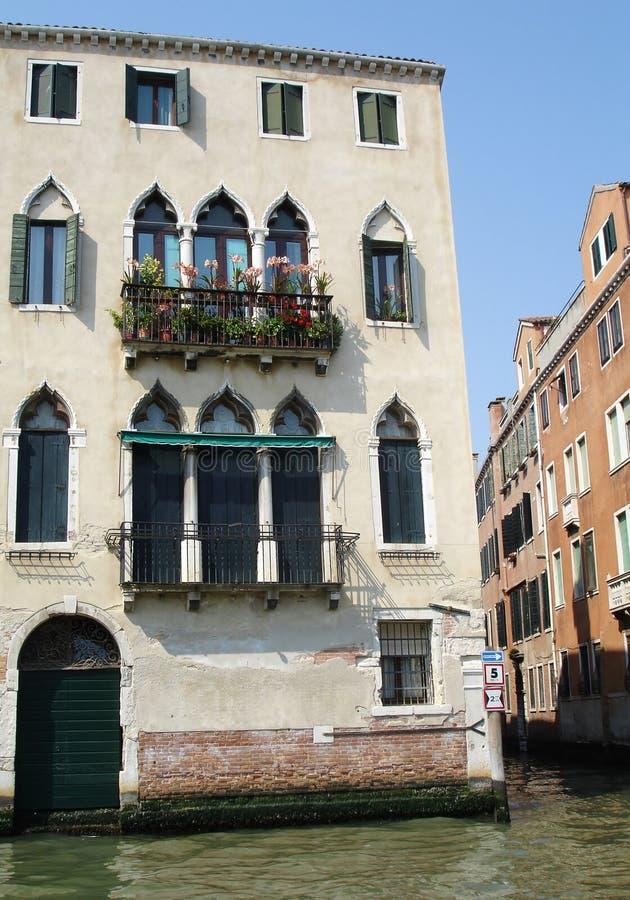 Construção bonita em Veneza fotografia de stock royalty free