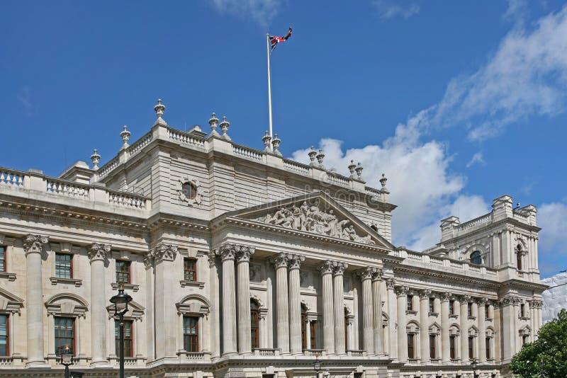 Download Construção Britânica Do Governo Foto de Stock - Imagem de branco, front: 65578476