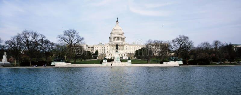 Construção capitala americana fotos de stock