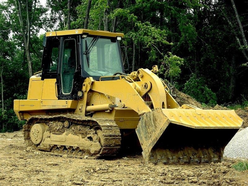 Construção - Carregador Dianteiro Fotos de Stock Royalty Free
