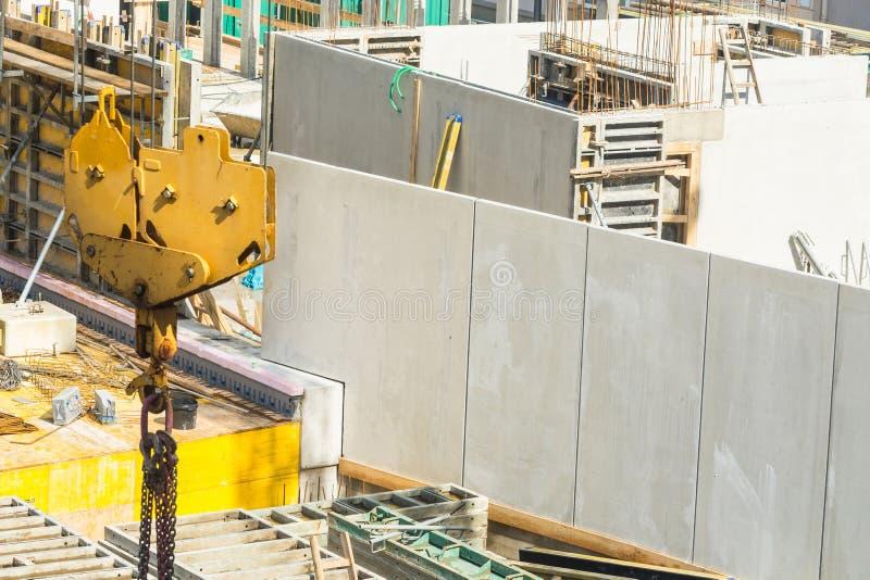 Construção civil com muros de cimento fotos de stock royalty free