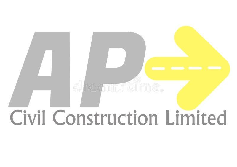 Construção civil do AP ilustração do vetor