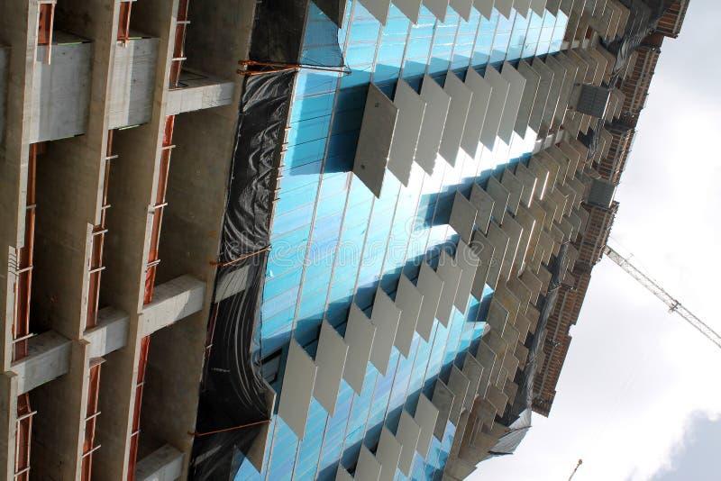 Construção civil em miami fotografia de stock royalty free