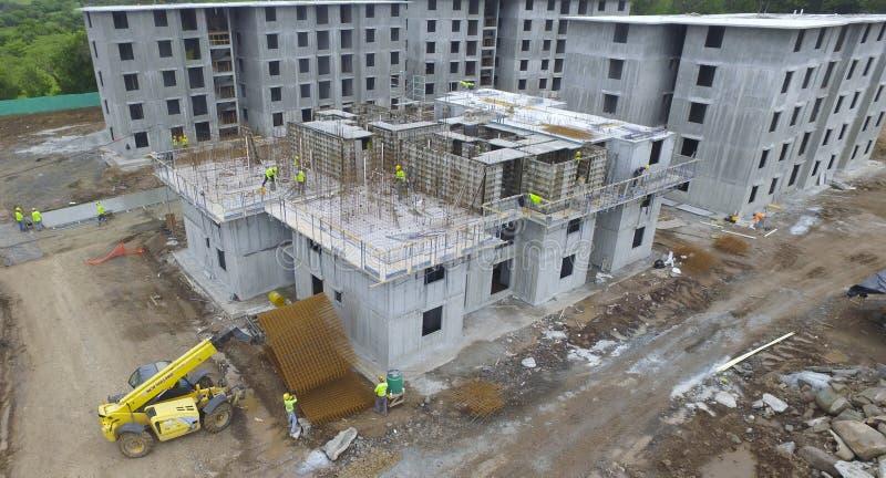 Construção civil em Panamá fotografia de stock