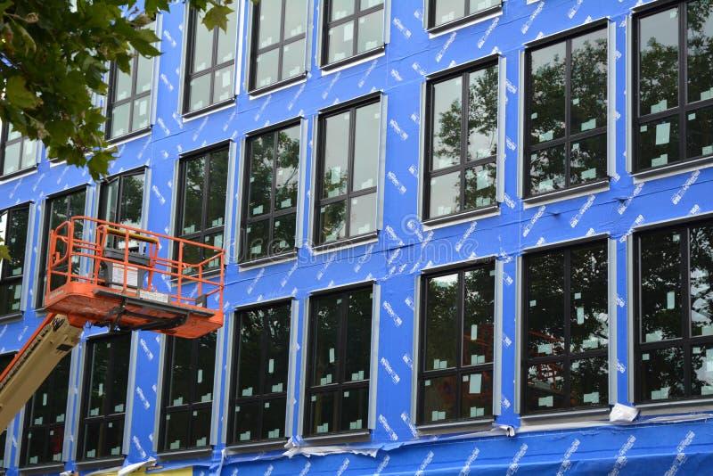 Construção civil em Portland, Oregon fotos de stock royalty free