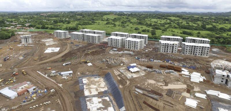Construção civil na província de Panamá fotos de stock royalty free