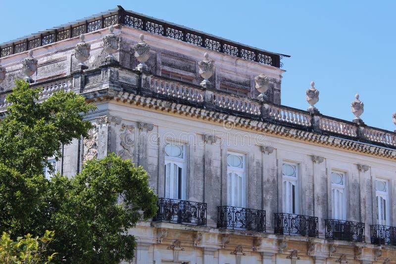 Construção clássica no ¡ n de Mérida Yucatà imagens de stock