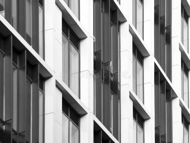 Construção comercial moderna fotografia de stock royalty free