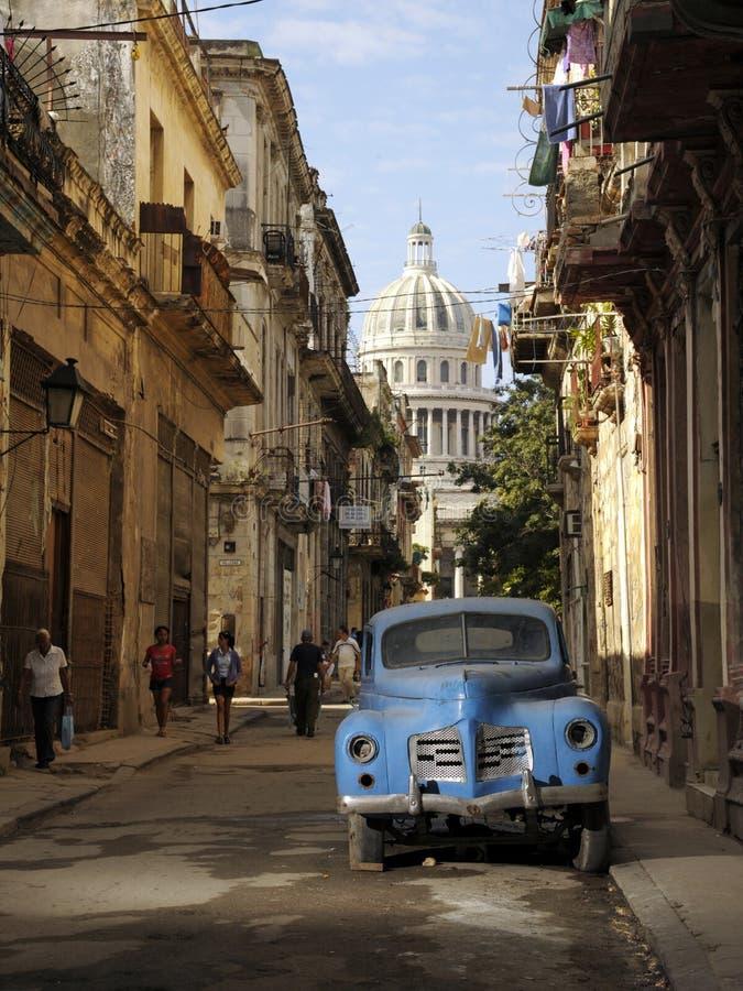 Construção cubana do Capitólio nacional fotos de stock