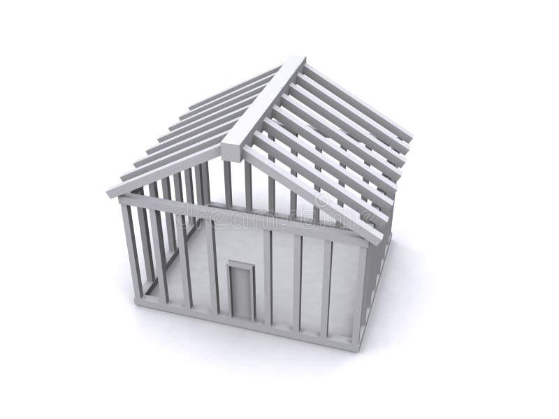 Construção da casa ilustração stock