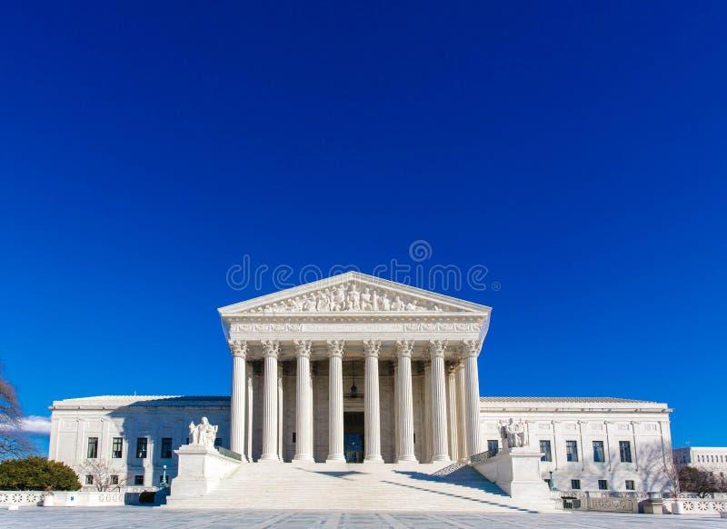 Construção da corte suprema dos E imagem de stock