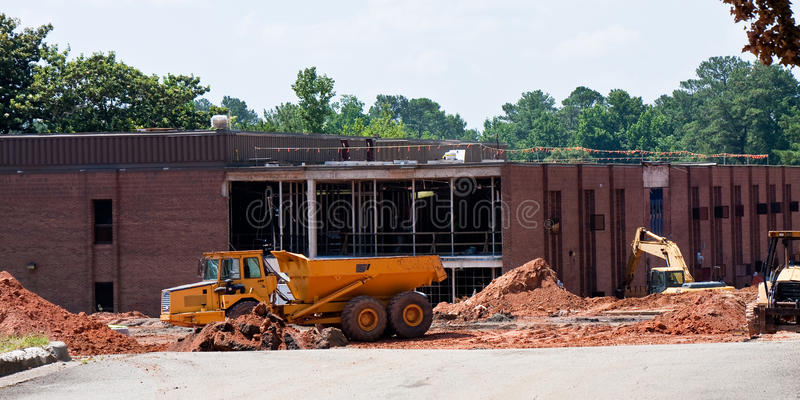 Construção da escola imagem de stock royalty free