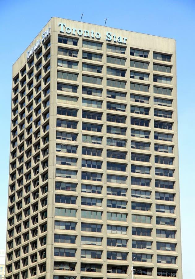 Construção da estrela de Toronto imagens de stock royalty free