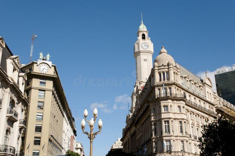 Construção da legislatura da cidade - Buenos Aires - Argentina imagem de stock royalty free