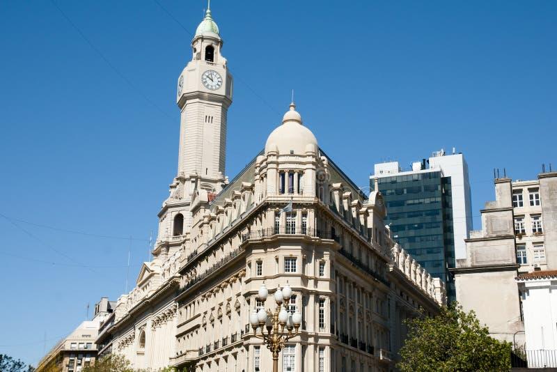 Construção da legislatura da cidade - Buenos Aires - Argentina imagem de stock