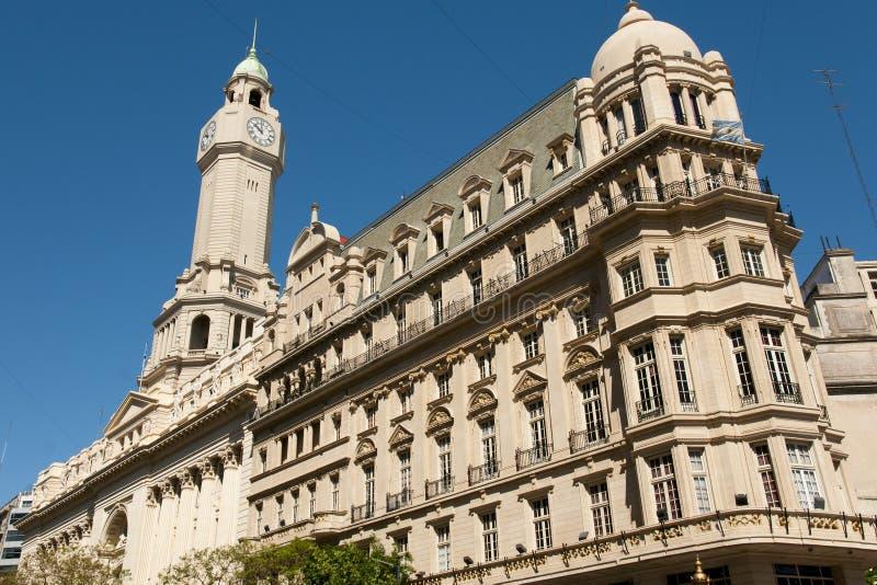 Construção da legislatura da cidade - Buenos Aires - Argentina foto de stock