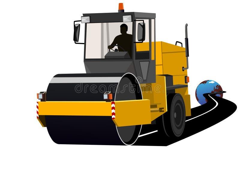 Construção das estradas ilustração stock