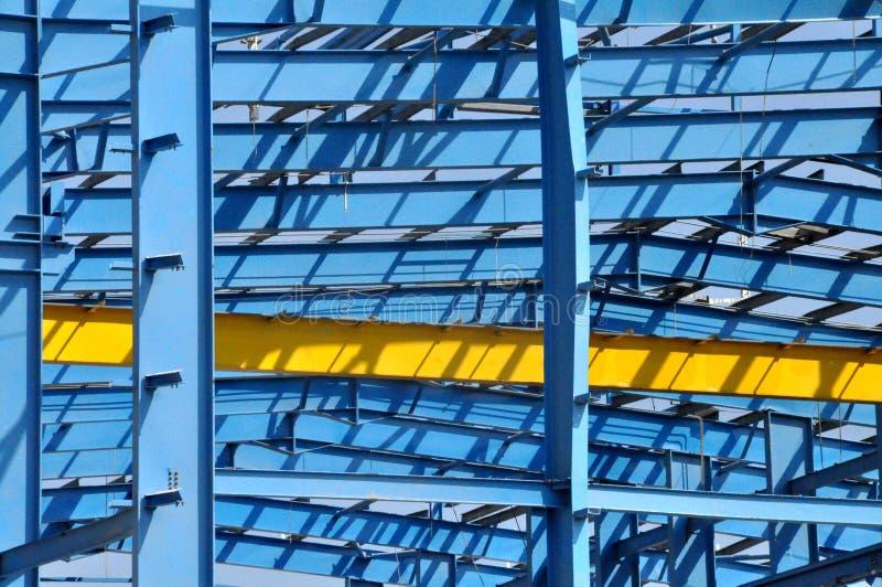 Construção de aço imagens de stock royalty free