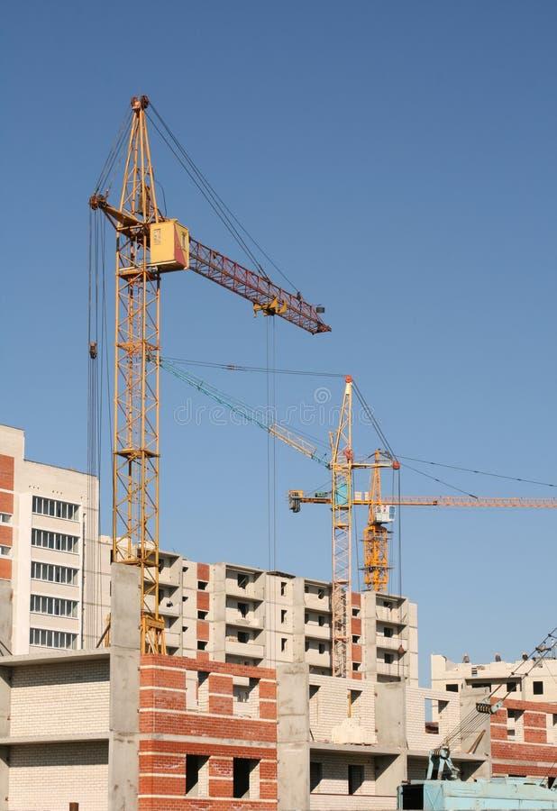 Construção de casas novas fotos de stock