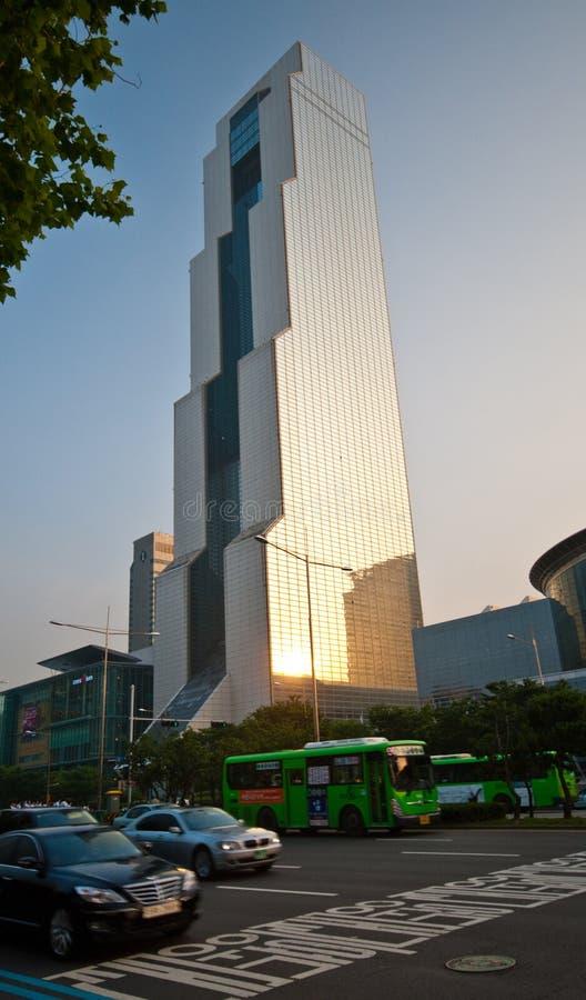 Construção de COEX em Seoul Coreia do Sul fotografia de stock royalty free