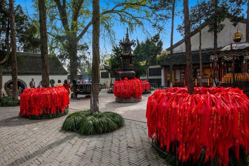 Construção de Daming Temple dentro imagens de stock royalty free