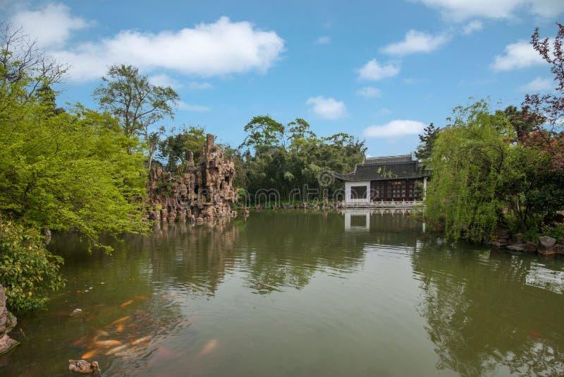 Construção de Daming Temple dentro imagem de stock royalty free