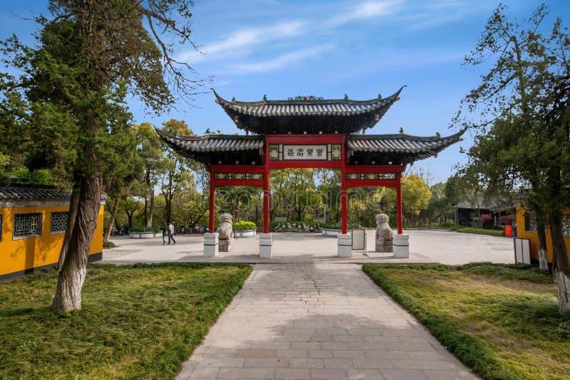Construção de Daming Temple dentro imagem de stock