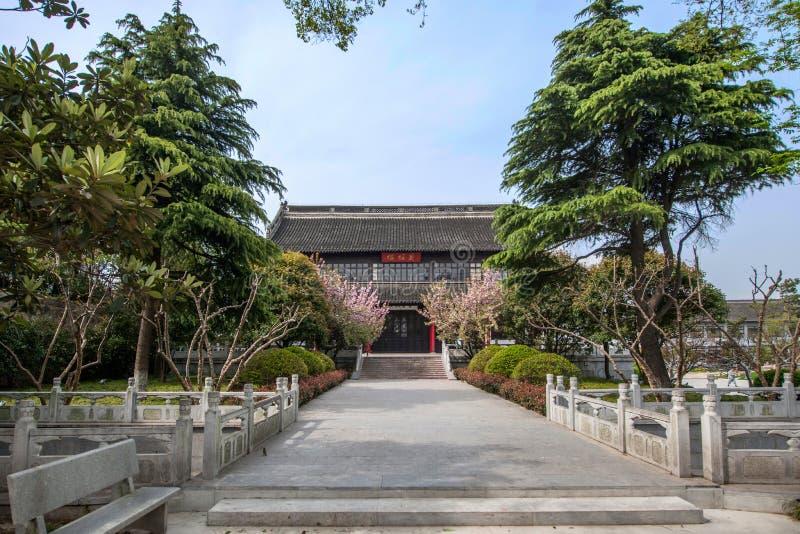 Construção de Daming Temple dentro foto de stock royalty free