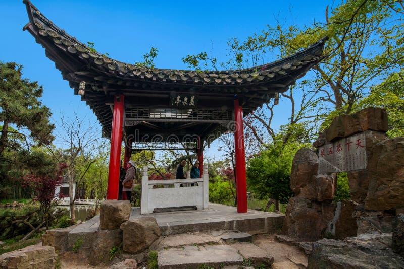 Construção de Daming Temple dentro fotos de stock royalty free