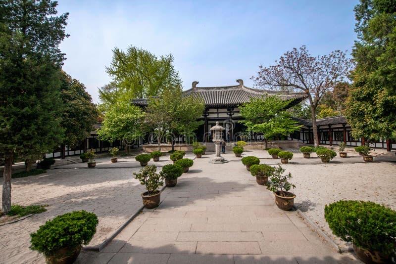 Construção de Daming Temple dentro fotografia de stock royalty free